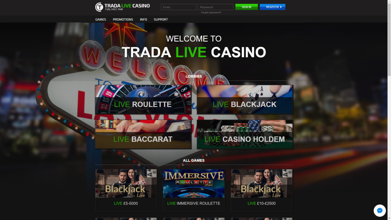 Trada Casino Review