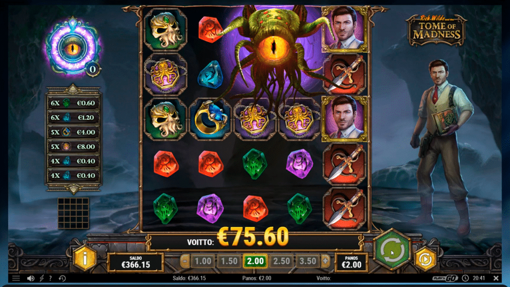 Spiele Rich Wilde And The Tome Of MadneГџ - Video Slots Online