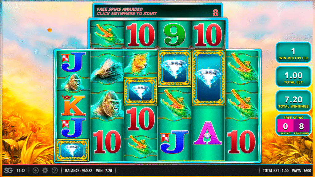 Spiele Raging Rhino Megaways - Video Slots Online