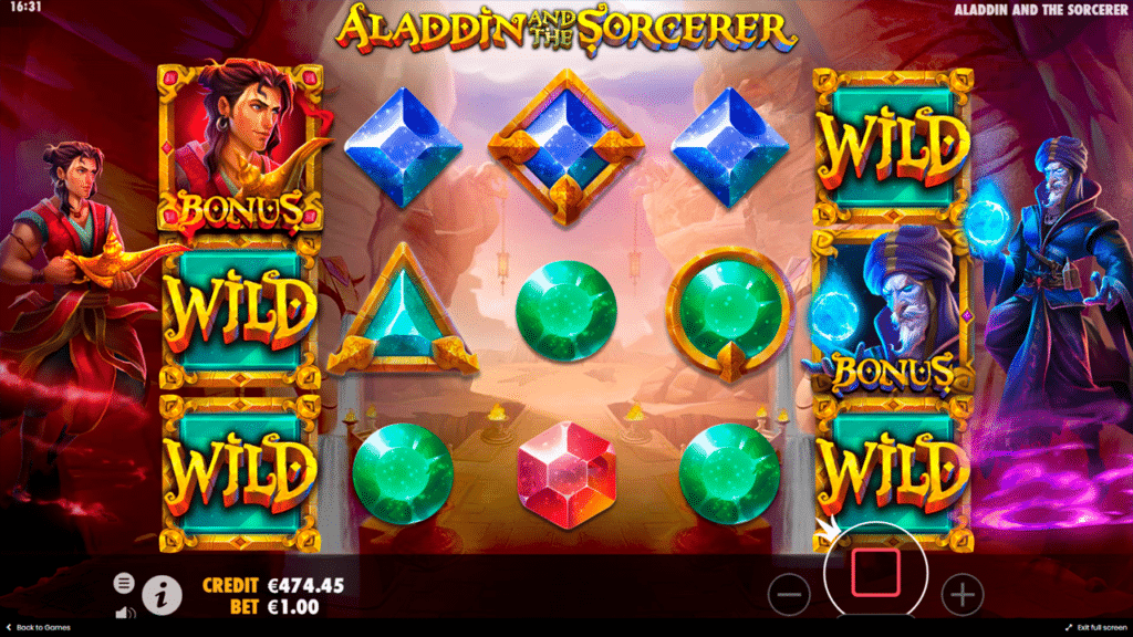 Spiele Aladdin And The Sorcerer - Video Slots Online